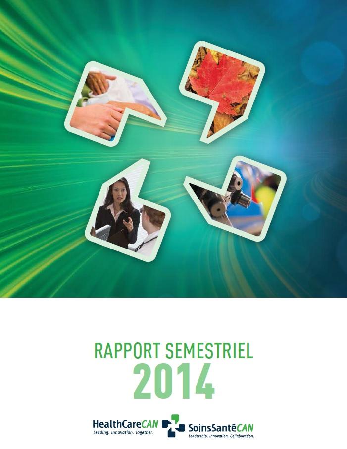 Rapport semestriel 2014