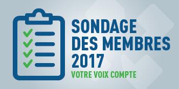Sondage des membres 2017