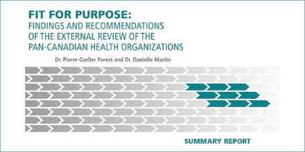 HealthCareCAN Statement on the External Review of Pan-Canadian Health Organizations