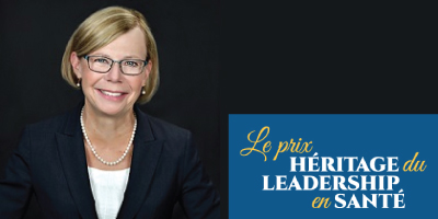 Wendy Nicklin reçoit le prestigieux Prix Héritage du leadership en santé de SoinsSantéCAN