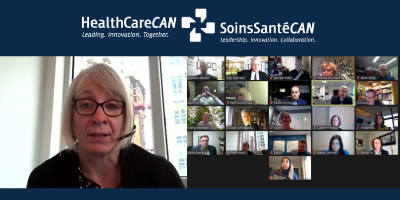 HealthCareCAN Board speaks with Health Minister Hajdu about health system needs