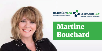 HealthCareCAN welcomes Martine Bouchard as new Chair of the Board of Directors