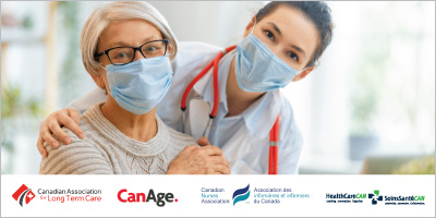 The Canadian Association for Long Term Care, CanAge, Canadian Nurses Association and HealthCareCAN call on the Federal Government to Develop a Dedicated Seniors' Care Transfer