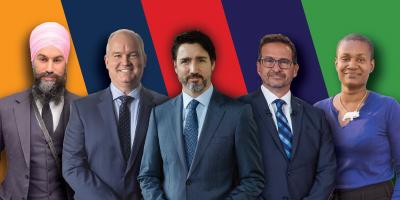 Les chefs de partis fédéraux se préparent pour les débats